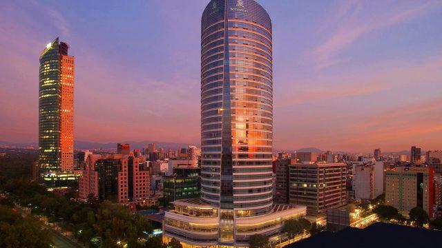 The St. Regis Mexico City Luxury Hotel - Mexico City, Mexico - Hotel Exterior Sunset