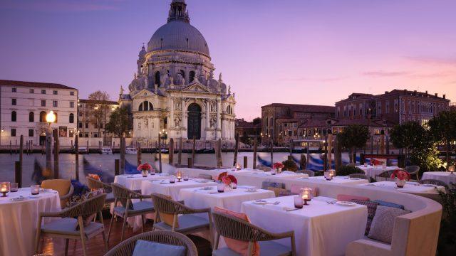 The St. Regis Venice Luxury Hotel - Venice, Italy - St. Regis Venice Terrace Sunset