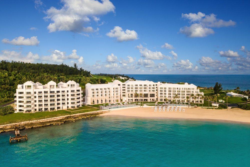 The St. Regis Bermuda Luxury Resort - St George's, Bermuda - Resort Exterior Aerial View