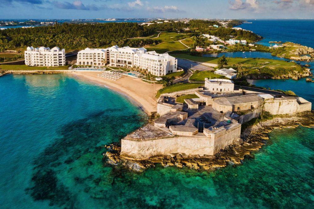 The St. Regis Bermuda Luxury Resort - St George's, Bermuda - Resort Exterior Aerial