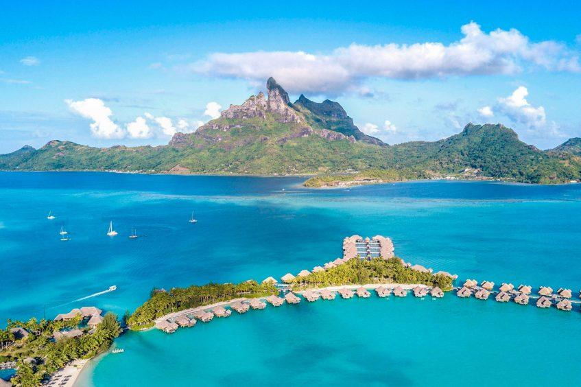 The St. Regis Bora Bora Resort - Bora Bora, French Polynesia - Bora Bora Resort Aerial View