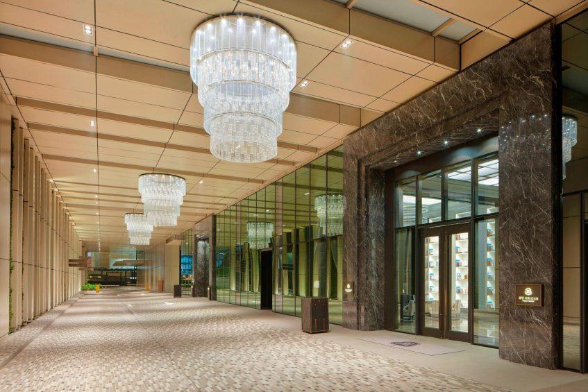 The St. Regis Kuala Lumpur Luxury Hotel - Kuala Lumpur, Malaysia - Hotel Main Entrance