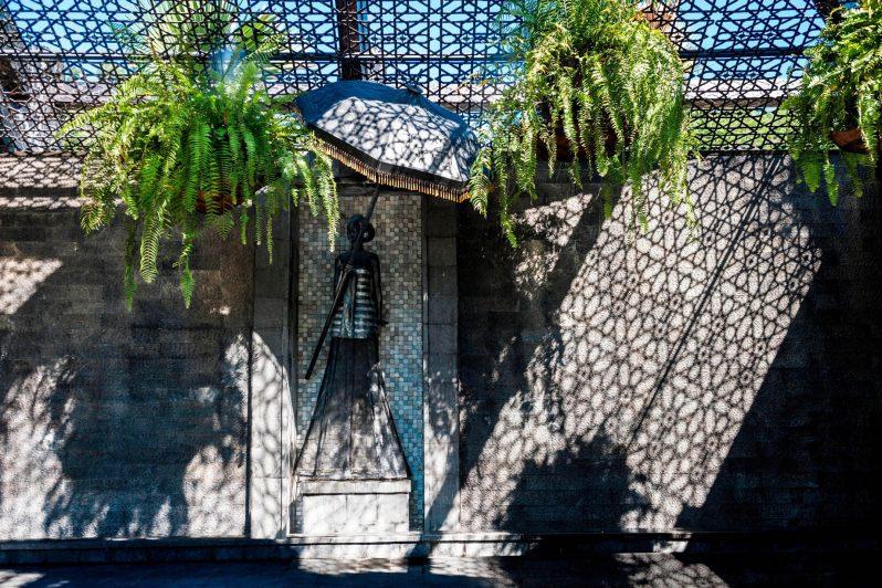 The St. Regis Langkawi Luxury Resort - Langkawi, Malaysia - Courtyard Lady Sculpture