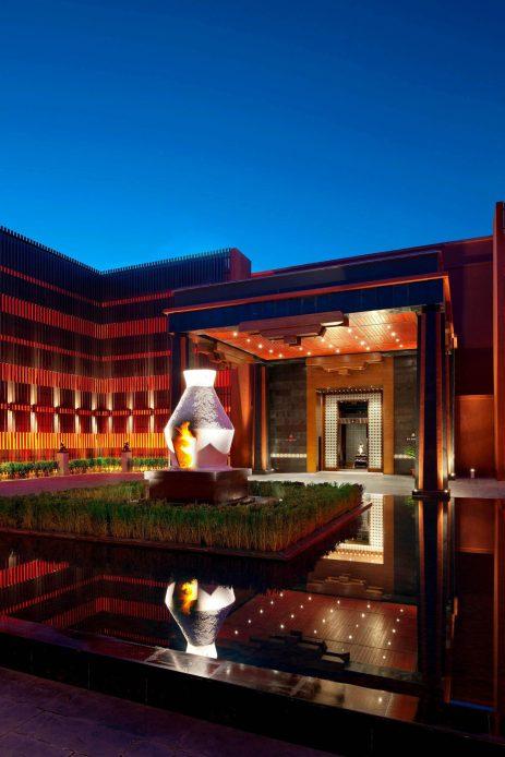 The St. Regis Lhasa Luxury Resort - Lhasa, Xizang, China - Exterior Entrance