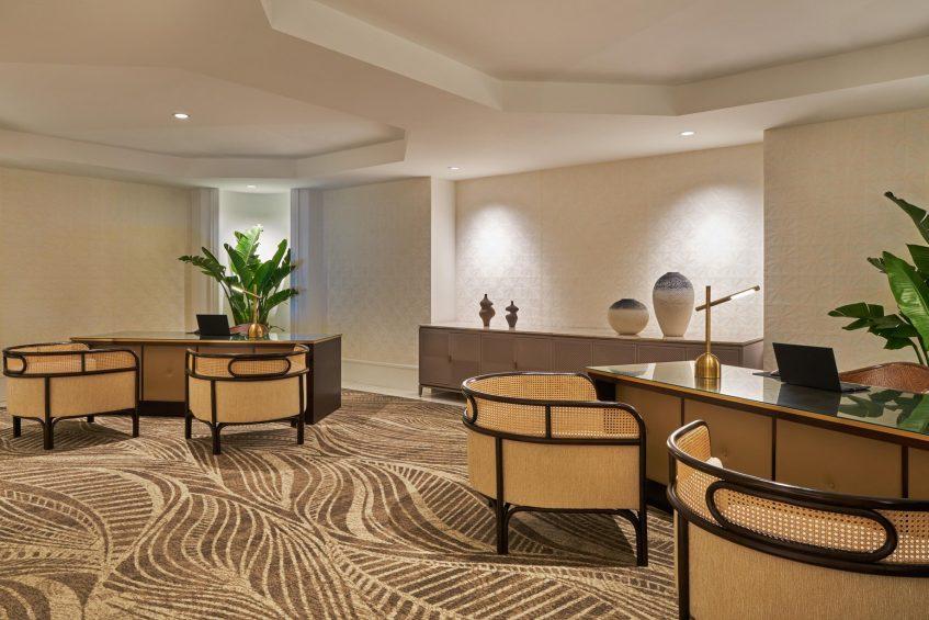 The St. Regis Bermuda Luxury Resort - St George's, Bermuda - Lobby Reception Desk