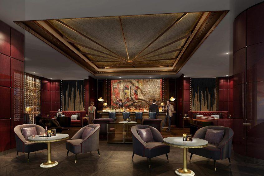 The St. Regis Qingdao Luxury Hotel - Qingdao, Shandong, China - The St.Regis Bar