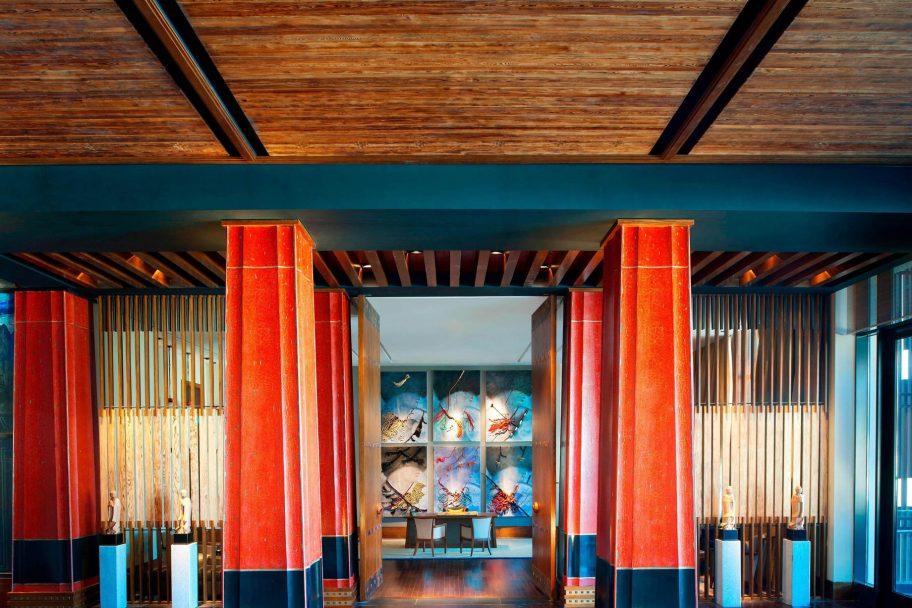 The St. Regis Lhasa Luxury Resort - Lhasa, Xizang, China - Lobby Entrance