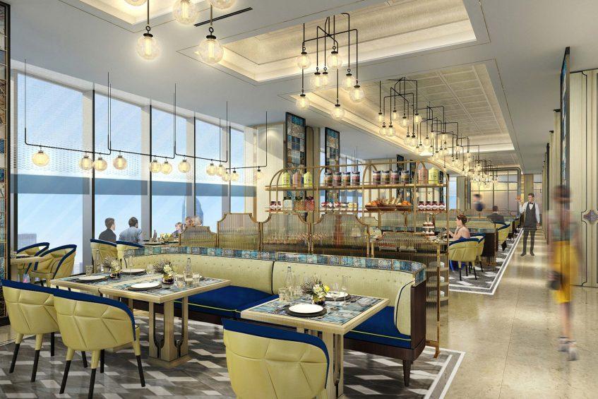 The St. Regis Qingdao Luxury Hotel - Qingdao, Shandong, China - Social All Day Dining Restaurant
