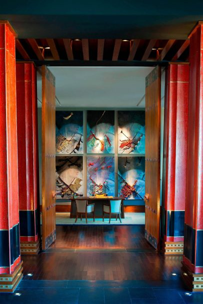 The St. Regis Lhasa Luxury Resort - Lhasa, Xizang, China - Lobby Decor