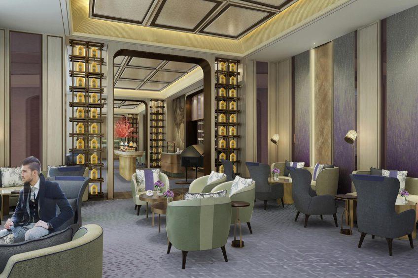 The St. Regis Qingdao Luxury Hotel - Qingdao, Shandong, China - The Drawing Room