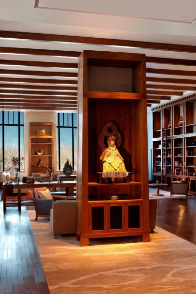 The St. Regis Lhasa Luxury Resort - Lhasa, Xizang, China - Drawing Room