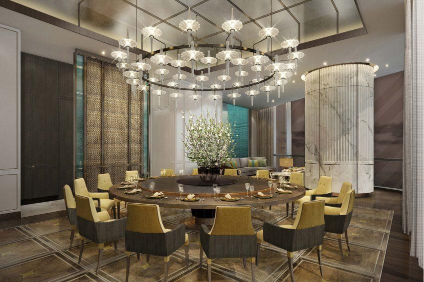 The St. Regis Qingdao Luxury Hotel - Qingdao, Shandong, China - Yan Ting Private Dining Room