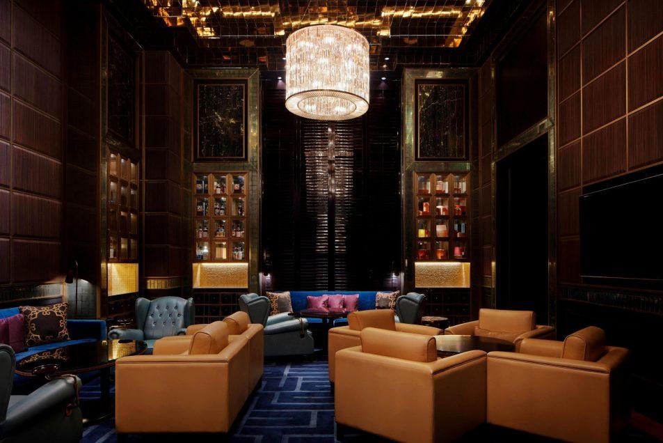 The St. Regis Kuala Lumpur Luxury Hotel - Kuala Lumpur, Malaysia - The Macallan M Room at Astor Bar