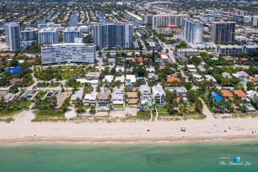 2920 N Atlantic Blvd, Fort Lauderdale, FL, USA - Beachfront Luxury Home Building Lot