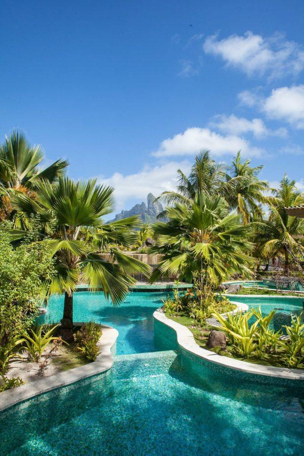 The St. Regis Bora Bora Resort - Bora Bora, French Polynesia - Adults Only Oasis Pool