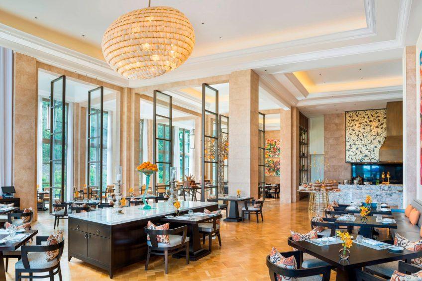 The St. Regis Langkawi Luxury Resort - Langkawi, Malaysia - L Orangerie Breakfast