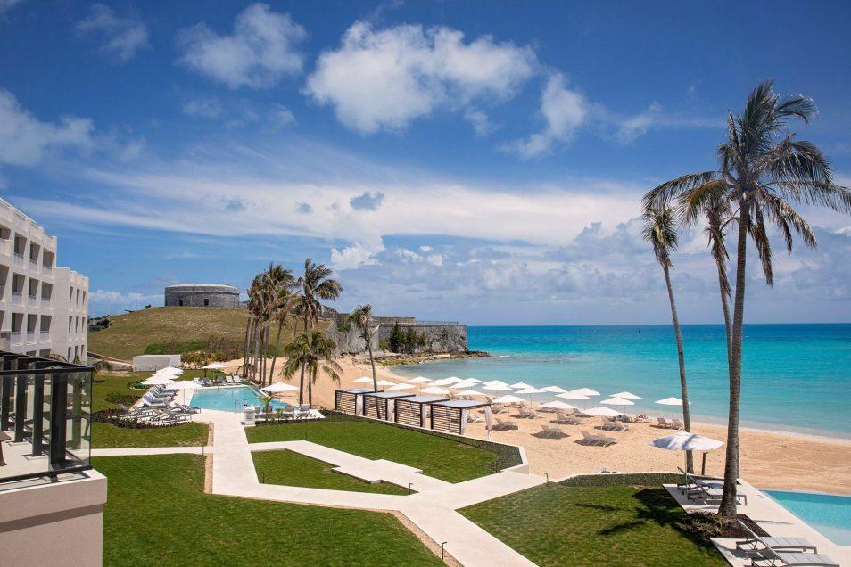 The St. Regis Bermuda Luxury Resort - St George's, Bermuda - Beach View