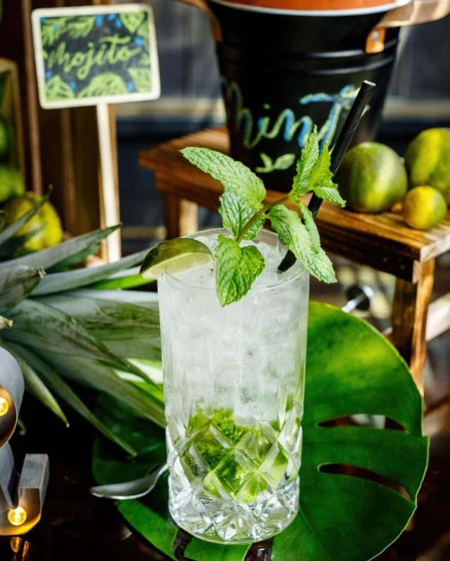 The St. Regis Kuala Lumpur Luxury Hotel - Kuala Lumpur, Malaysia - Green Mojito Cocktail