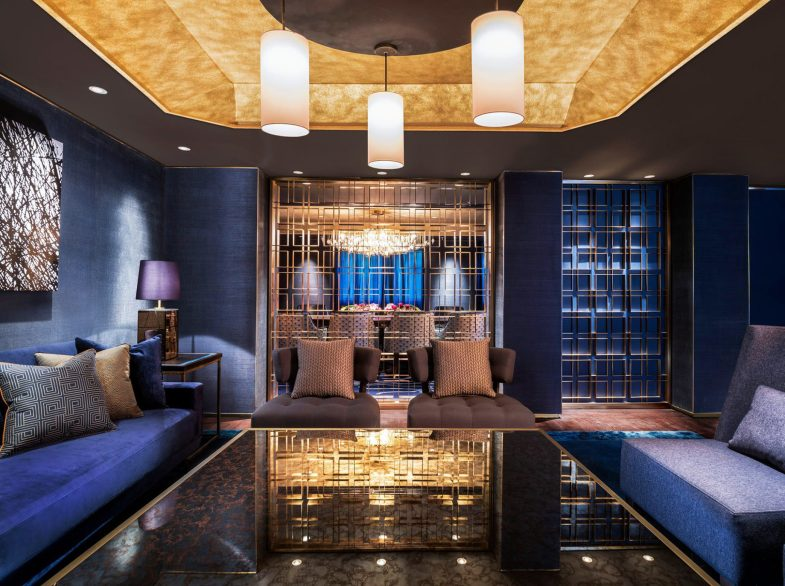 The St. Regis Langkawi Luxury Resort - Langkawi, Malaysia - Salon Lounge and Dining Room