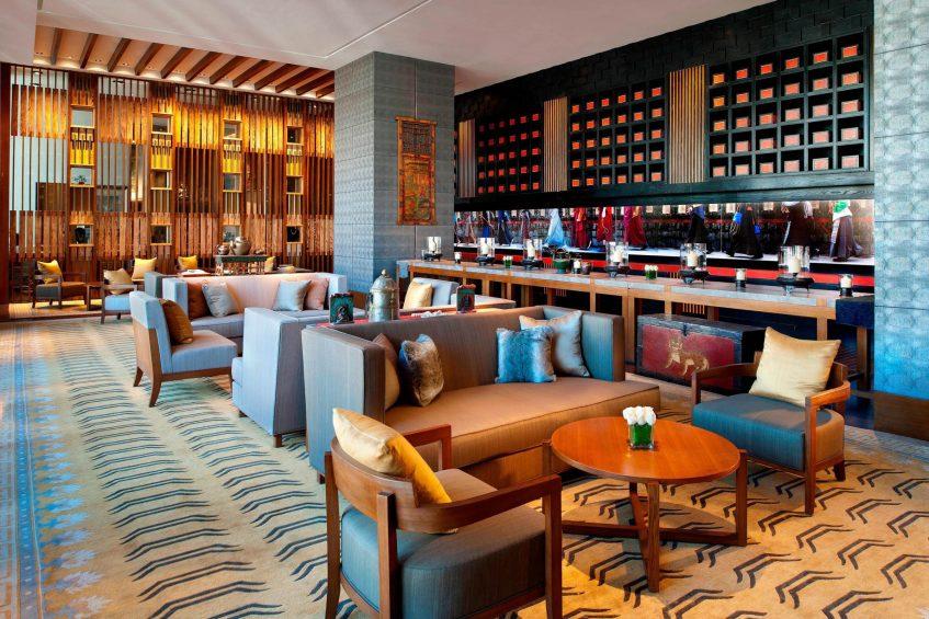 The St. Regis Lhasa Luxury Resort - Lhasa, Xizang, China - Tea Room