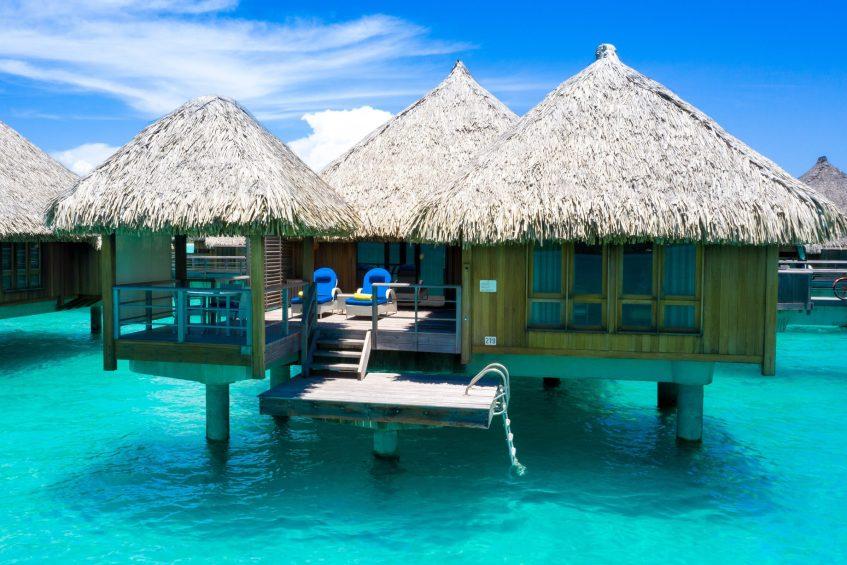 The St. Regis Bora Bora Resort - Bora Bora, French Polynesia - Overwater Deluxe Suite Villa Mt Oteman View