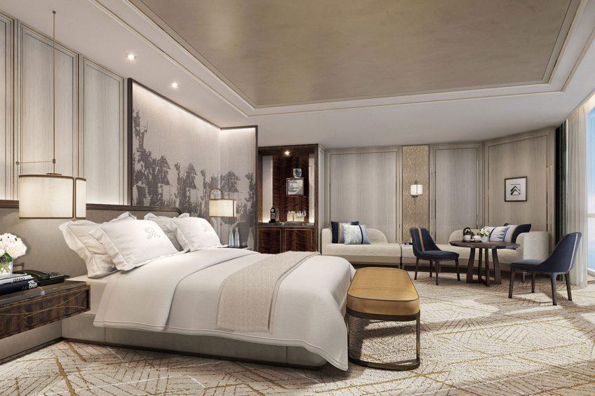 The St. Regis Qingdao Luxury Hotel - Qingdao, Shandong, China - John Jacob Astor Suite
