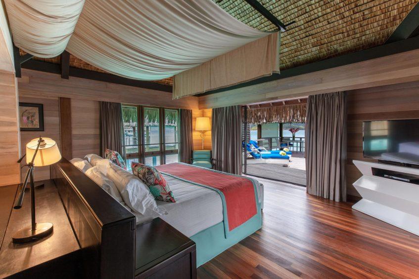 The St. Regis Bora Bora Resort - Bora Bora, French Polynesia - Overwater Deluxe Otemanu Villa