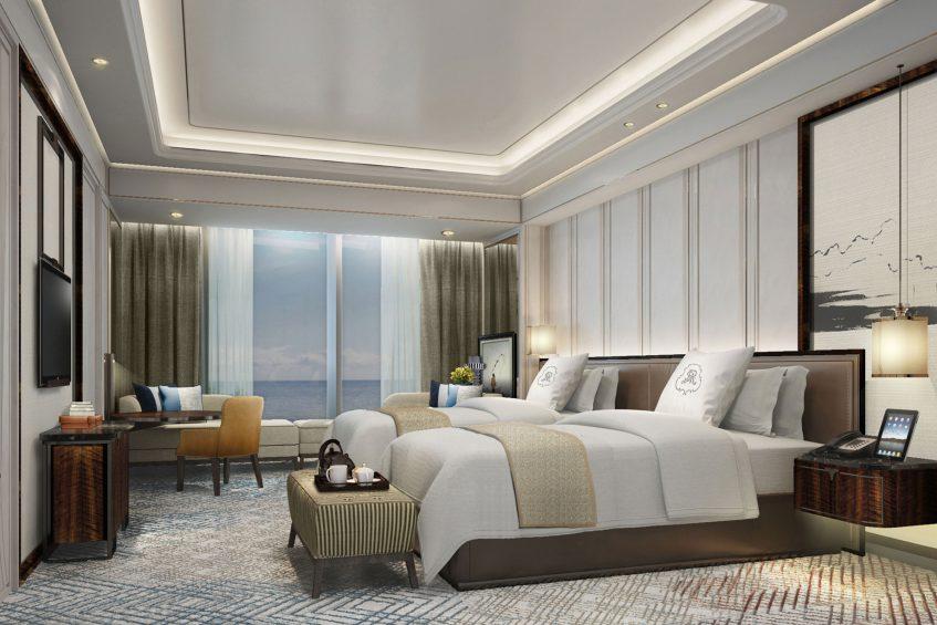 The St. Regis Qingdao Luxury Hotel - Qingdao, Shandong, China - Premier Guest Room