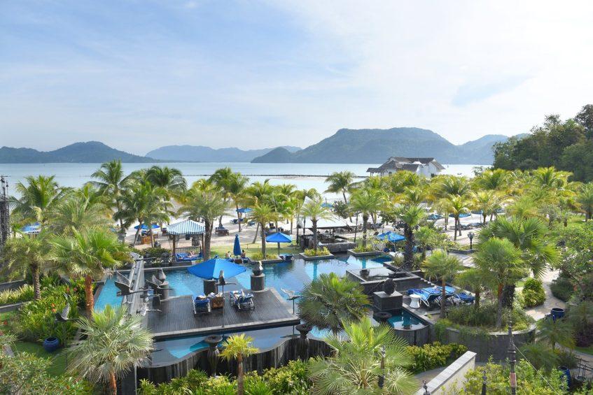 The St. Regis Langkawi Luxury Resort - Langkawi, Malaysia - Andaman Sea Beach Views