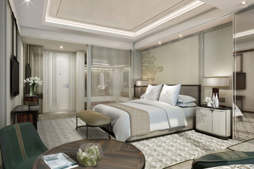 The St. Regis Qingdao Luxury Hotel - Qingdao, Shandong, China - Deluxe Guest Room