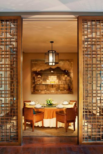 The St. Regis Lhasa Luxury Resort - Lhasa, Xizang, China - Yan Ting Chinese Restaurant Private Dining Room
