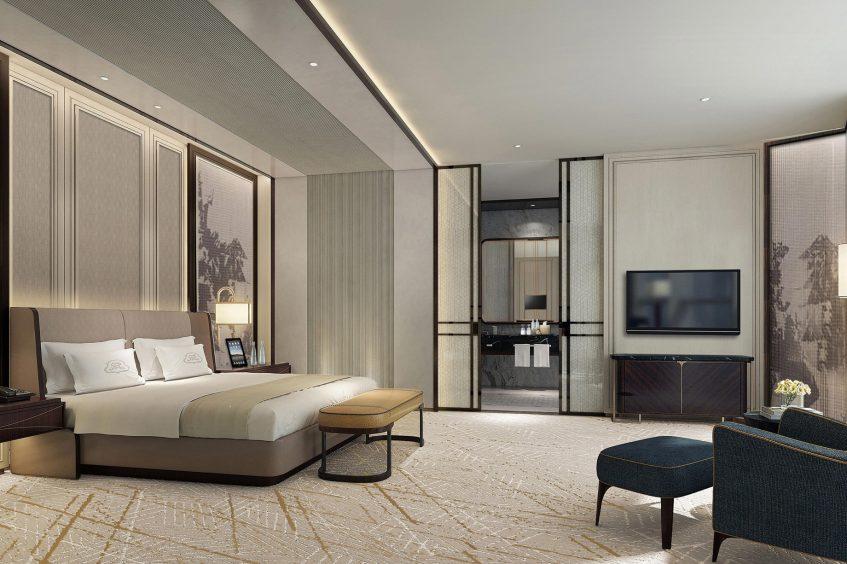 The St. Regis Qingdao Luxury Hotel - Qingdao, Shandong, China - Caroline Astor Suite