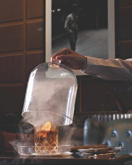 The St. Regis Kuala Lumpur Luxury Hotel - Kuala Lumpur, Malaysia - Cocktail and Cigar