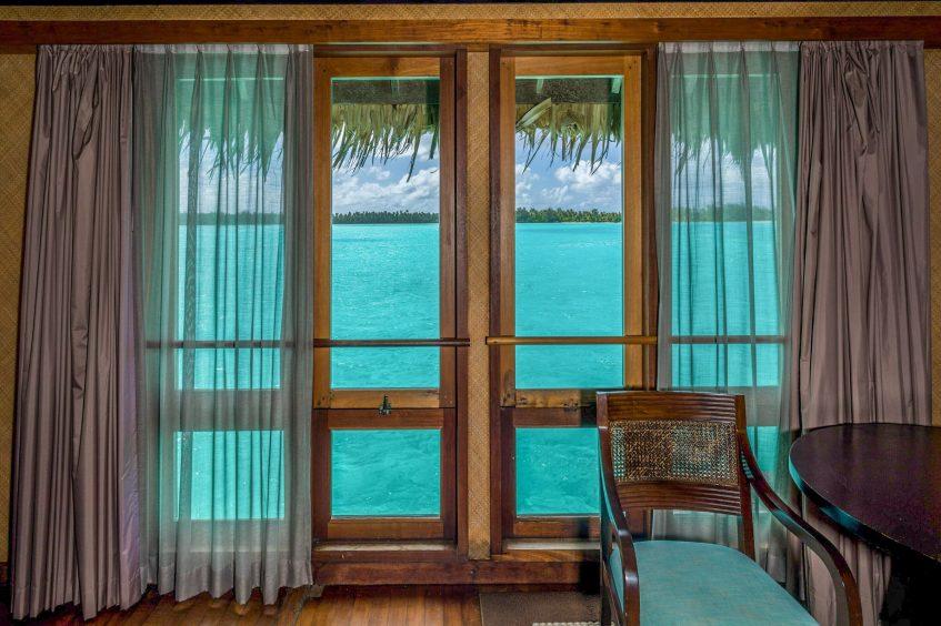 The St. Regis Bora Bora Resort - Bora Bora, French Polynesia - Overwater Deluxe Villa Lagoon View