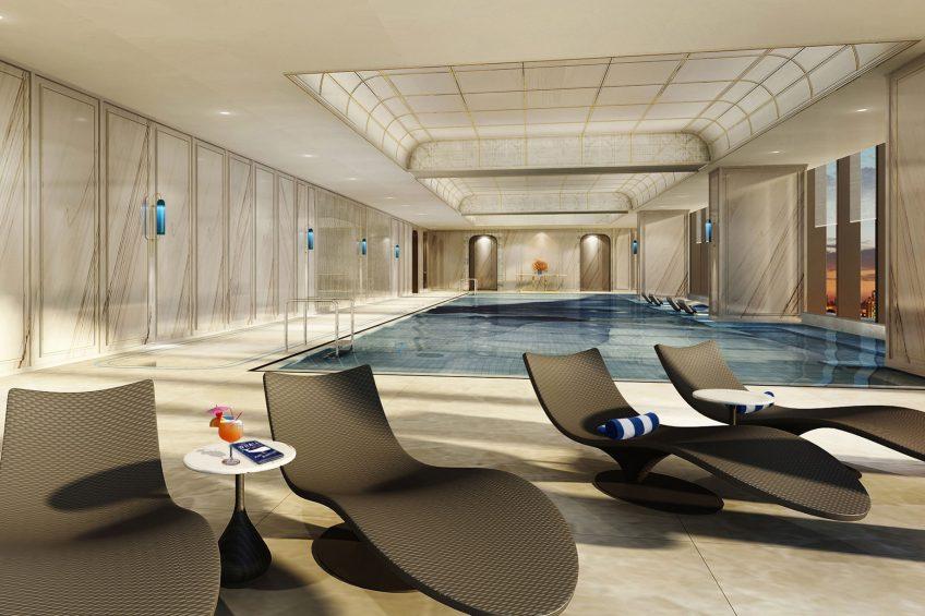 The St. Regis Qingdao Luxury Hotel - Qingdao, Shandong, China - Infinity Pool