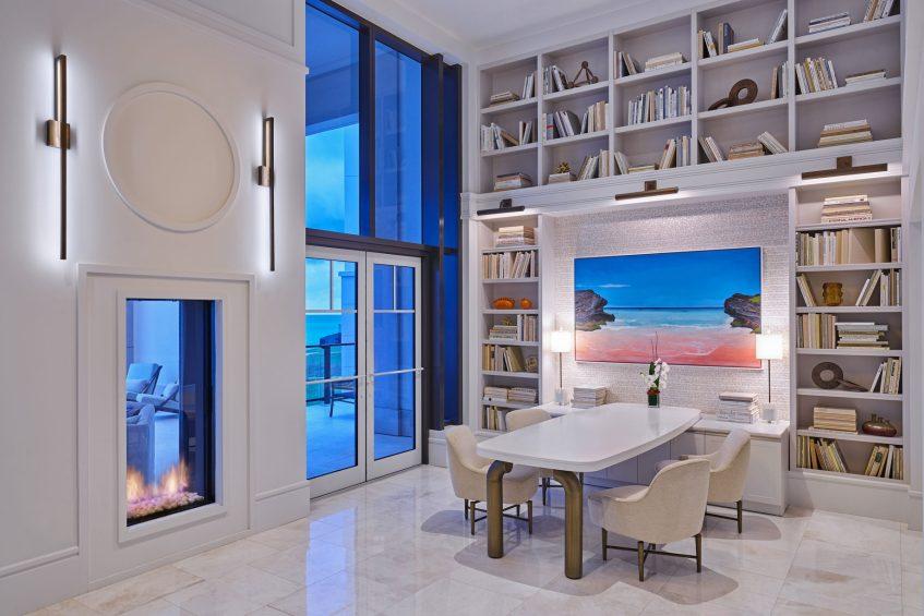 The St. Regis Bermuda Luxury Resort - St George's, Bermuda - Astor Library Table