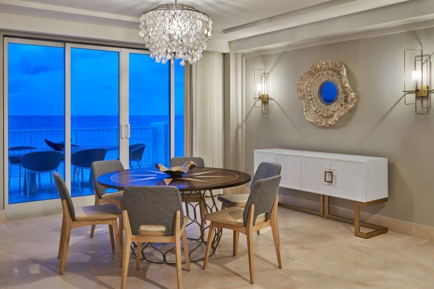 The St. Regis Bermuda Luxury Resort - St George's, Bermuda - JJ Astor Suite Dining Room