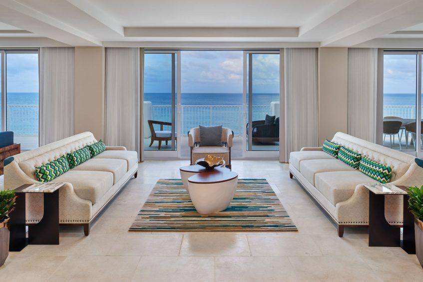 The St. Regis Bermuda Luxury Resort - St George's, Bermuda - John Jacob Astor Suite Living Room Seating