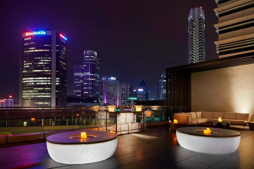 The St. Regis Kuala Lumpur Luxury Hotel - Kuala Lumpur, Malaysia - Crystal Upper Deck Outdoor