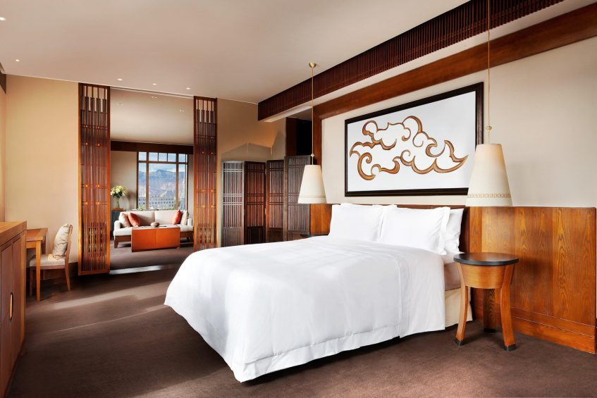 032 - The St. Regis Lhasa Luxury Resort - Lhasa, Xizang, China - Everest Suite Bedroom