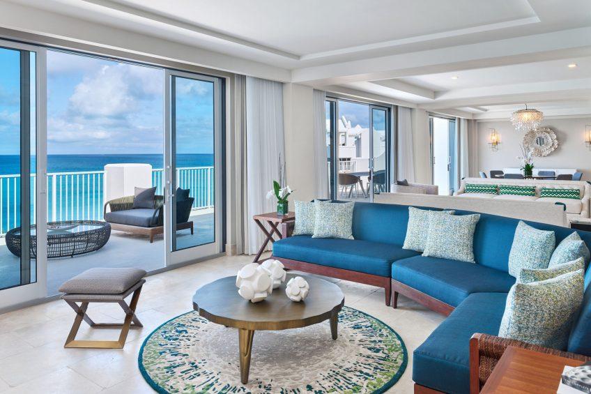 The St. Regis Bermuda Luxury Resort - St George's, Bermuda - John Jacob Astor Suite Living Room