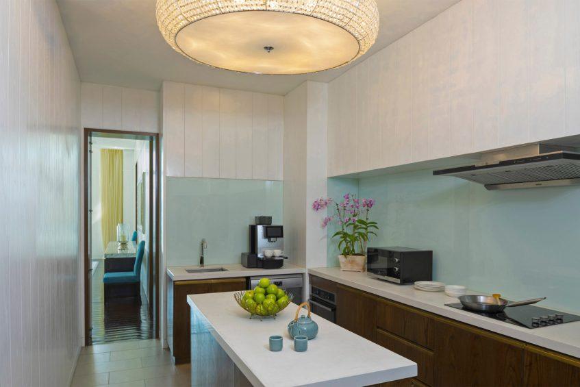 The St. Regis Langkawi Luxury Resort - Langkawi, Malaysia - Sunset Royal Villa Kitchenette