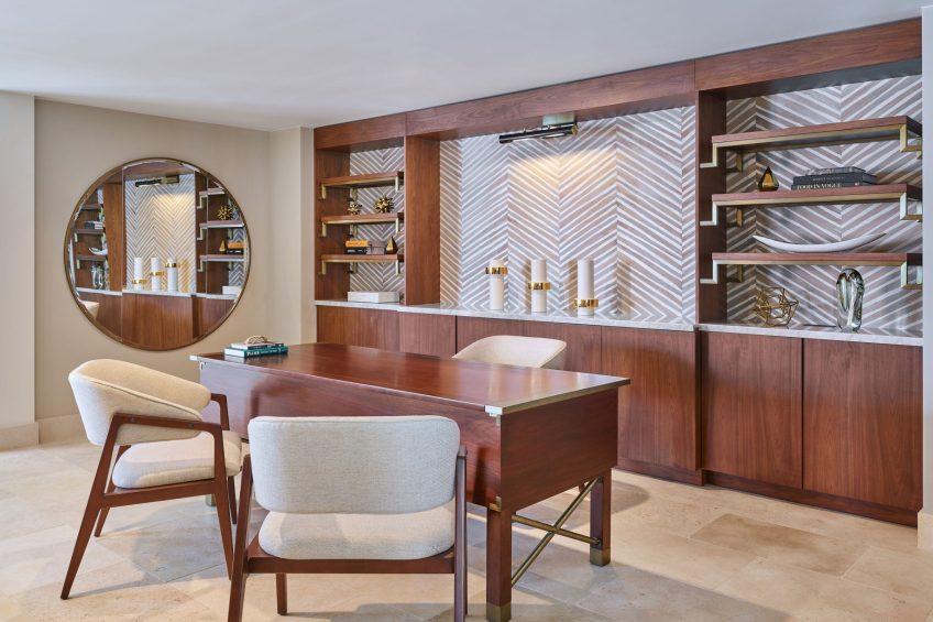 The St. Regis Bermuda Luxury Resort - St George's, Bermuda - John Jacob Astor Suite Study
