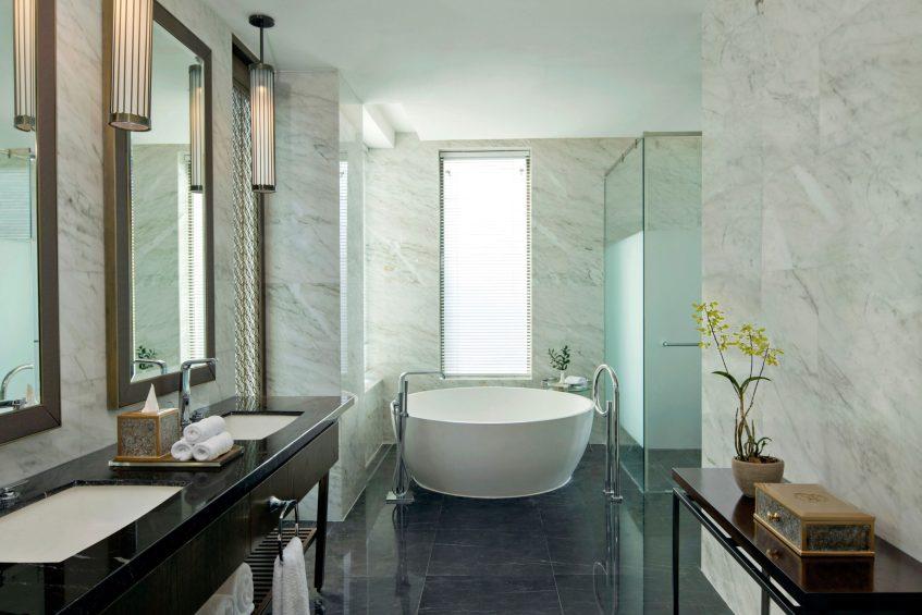 The St. Regis Langkawi Luxury Resort - Langkawi, Malaysia - Sunset Villa Bathroom