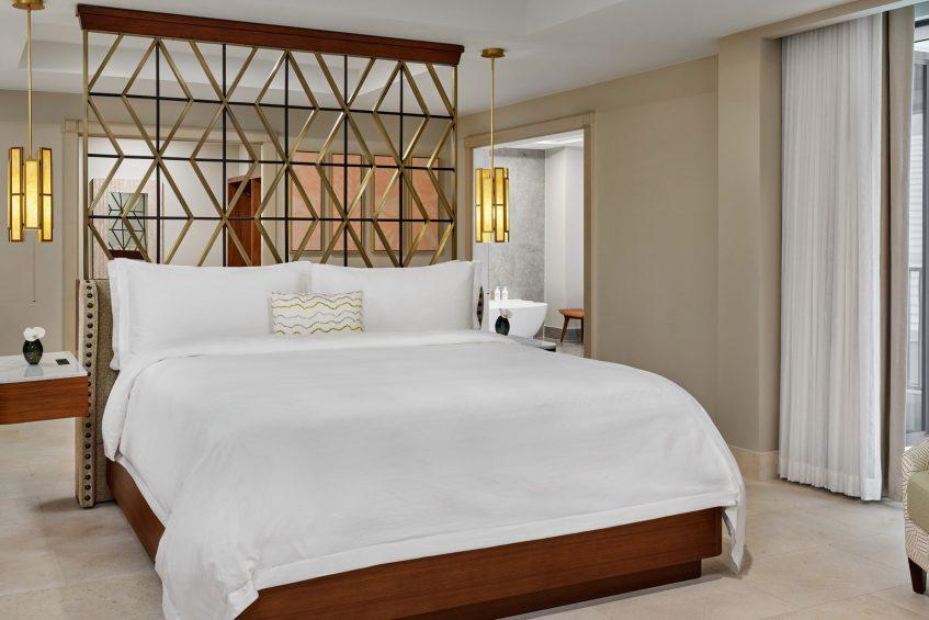 The St. Regis Bermuda Luxury Resort - St George's, Bermuda - John Jacob Astor Suite Bedroom