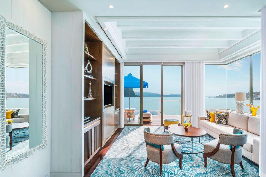 The St. Regis Langkawi Luxury Resort - Langkawi, Malaysia - Sunset Villa Living Room