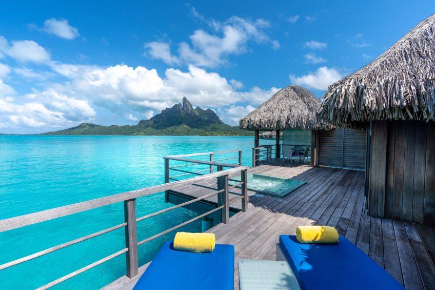 The St. Regis Bora Bora Resort - Bora Bora, French Polynesia - Overwater Premier Suite Villa Ocean View Deck