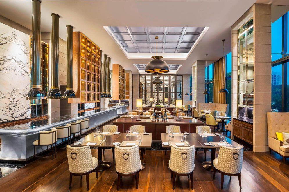 The St. Regis Kuala Lumpur Luxury Hotel - Kuala Lumpur, Malaysia - The Brasserie