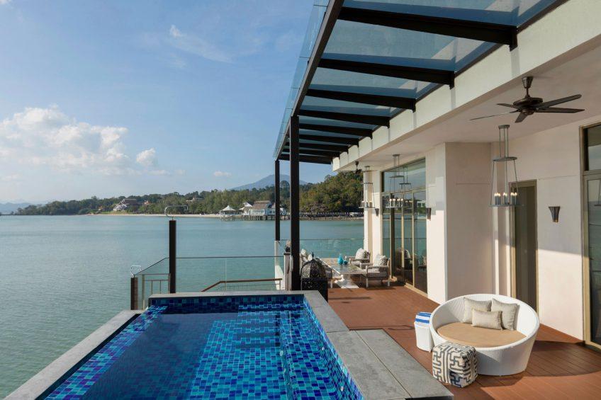 The St. Regis Langkawi Luxury Resort - Langkawi, Malaysia - Sunset Royal Villa Pool