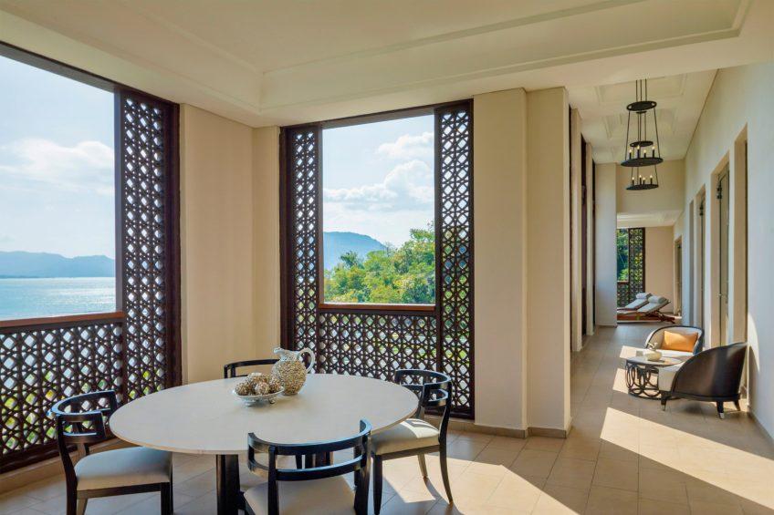 The St. Regis Langkawi Luxury Resort - Langkawi, Malaysia - Astor Suite Living Room Balcony